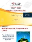 02 Aplicaciones de La Programación Lineal