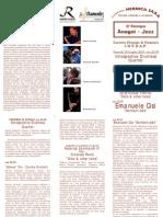 Brochure Terza Rassegna Anagni Jazz