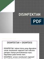 5. disinfektan