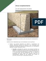 Obras Complementarias en Carreteras Según MOPC