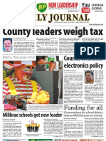 07-26-10 Issue of the Daily Journal