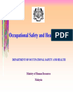 Occuptional Safety Health Act 1994