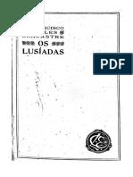 Os Lusíadas Comentario de Francisco de Sales Lencastre Volume 1