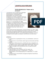 PALEONTOLOGIA PERUANA