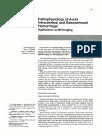 Patophysiology ICH SAH
