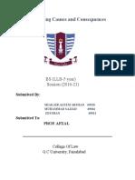 Assignment Sample of GC University Faisalabad