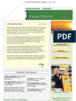 Field Notes From The Meg Whitman Campaign - July 2, 2010