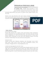 7 Faktor Mempengaruhi Produksi Urine