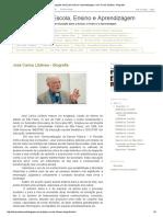 Concepções de Escola, Ensino e Aprendizagem_ José Carlos Libâneo - Biografia