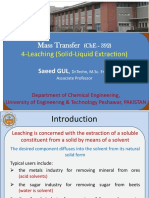 4 Leaching Solid Liquid Extraction