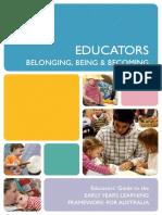 Edcators_Belonging, Being & Becoming