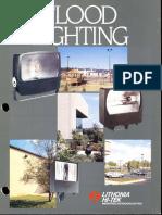 Lithonia Floodlighting Brochure 1985