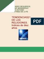 eBook en PDF Tendencias21 de Las Religiones Indices de Diez Anos