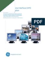 ANNEX 11 - Human Machine Interface (HMI) Product Description GEI-100485