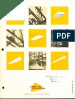 Lithonia Fluorescent Lighting Catalog 1962