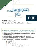 Penulisan Bibliografi APA