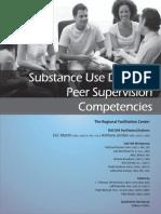 Peer Supervision Competencies 2017