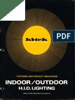 Lithonia Hi-Tek Indoor & Outdoor Lighting Catalog 1975