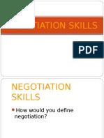 Week 3-4 - Negotiation Skills