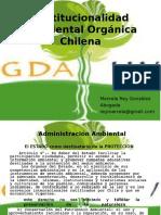 Institucionalidad ambiental orgánica 1 abril 2016