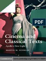 Cinema & Classical Texts. Apollo's New Light
