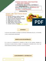Procesamiento de Lacteos , Bebidas de Frutas y Hortalizas