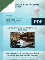 Resiliencia en Desastres