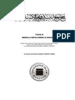(Gbg) Tulisan Mendala Metalogenik Indonesia