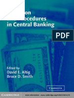 Altig & Smith (Eds.) - Evolution and Procedures in Central Banking (2003)