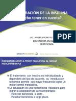 6.Técnica de Insulinización _Lic. Angela Roncal