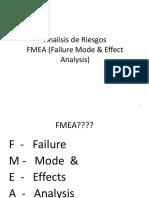 FMEA Clase de Grado