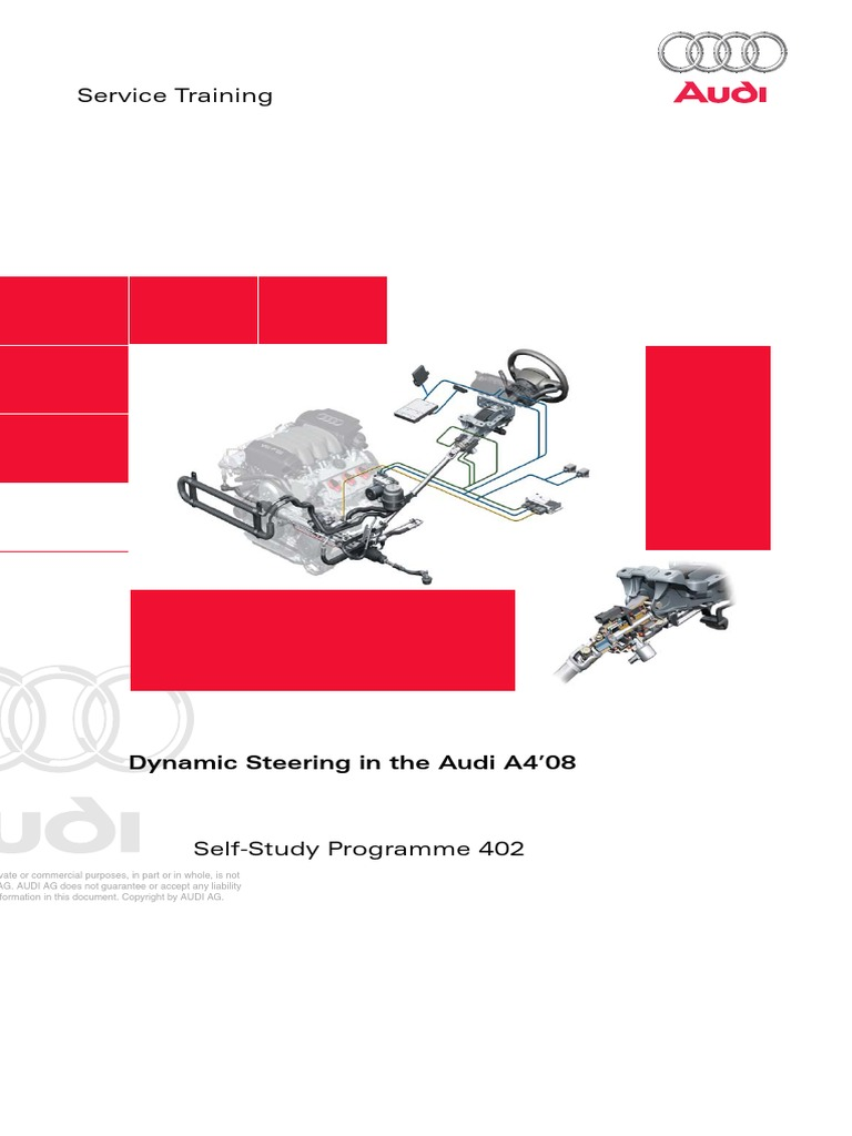 dynamic steering system fault audi