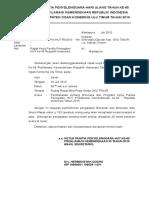 Surat Kop Panitia HUT ke-65 RI Tahun 2010