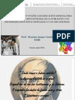 Conceptualización y Política de Educación Especial Resumen