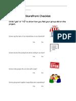 storefrontchecklistrubric  1