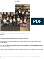 service-learning project newspaper article