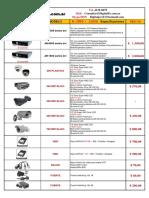 Lista de Precios CAMARAS y DVR -Digital Pc - Gremio - Febrero