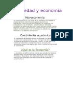 Sociedad y Economía