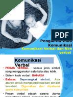 Komunikasi Verbal & Nonverbal