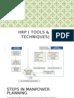 HRP ( Tools & Techniques) Chapt 3 Part 2