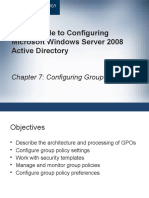 configuring group policy ch 7-rami