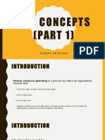 HRP Concepts (Part 1) Chapter 3