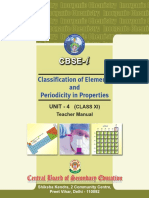 Classification of Elements CHEMISTRY CBSE INTERNATIONAL