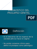 DIAGNOSTICO DEL PROLAPSO GENITAL.ppt
