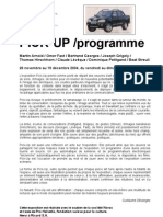 dossier de presse Pick-Up