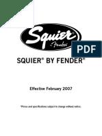 Squier Winter 2007
