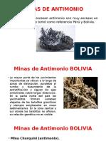 Minas Antimonio
