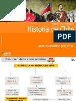Institucionalidad politica y regimen politico