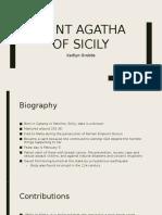 saint agatha presentation