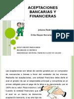 Aceptaciones Bancarias y Financieras